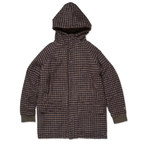 ゴーヘンプ☆GOHEMP LODGE HOODY COAT (BROWN/RED)☆