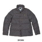 ゴーヘンプ☆GOHEMP BOTANICA JACKET (BROWN/NAVY)☆