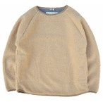 A HOPE HEMP ☆Boa Raglan Wide Pullover