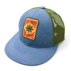 ゴーヘンプ☆GOHEMP DON'T WORRY LEAF MESH CAP