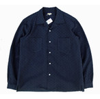 Norah☆Norah Open coller shirt