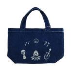 トシュカ 藍染トートバッグ