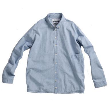 remilla (レミーラ)  シャンブレーデクトシャツ