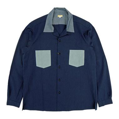 Norah☆Norah Open coller shirt